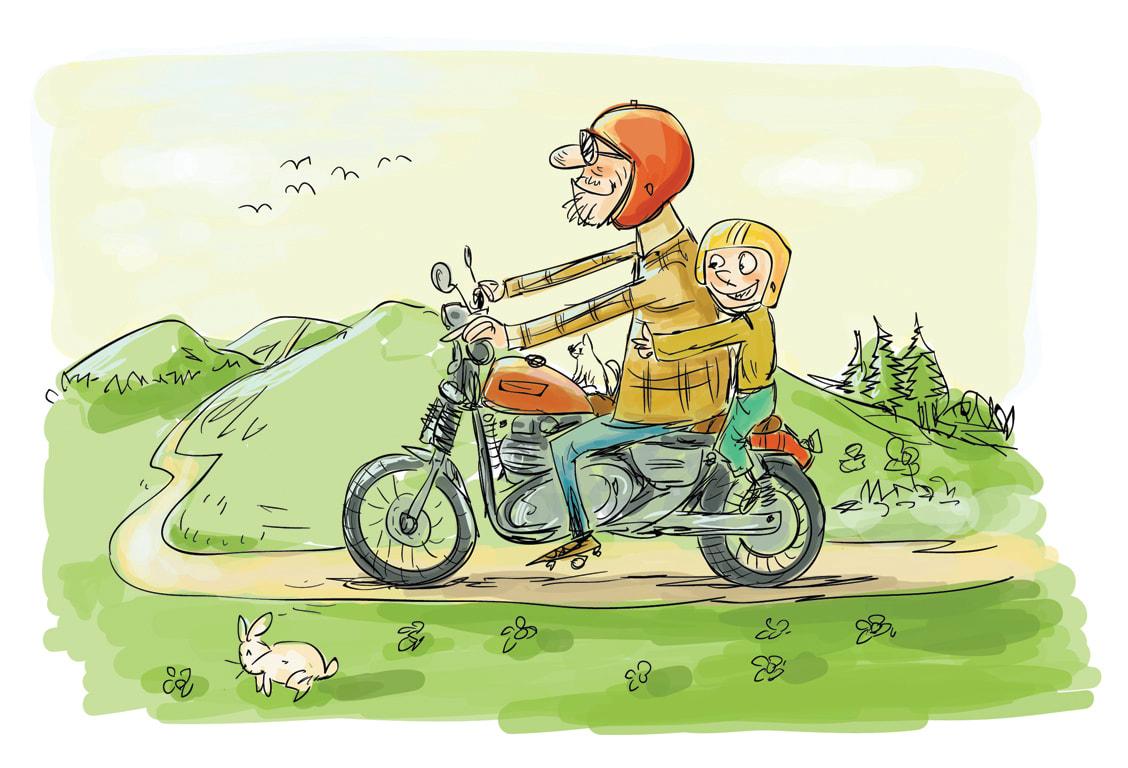 I will draw children book illustration 48h