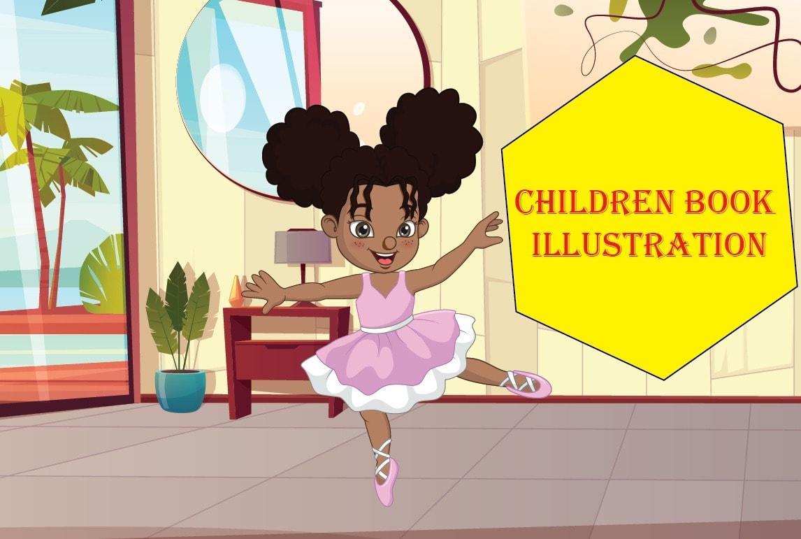 I will childrens book illustration or illustrations