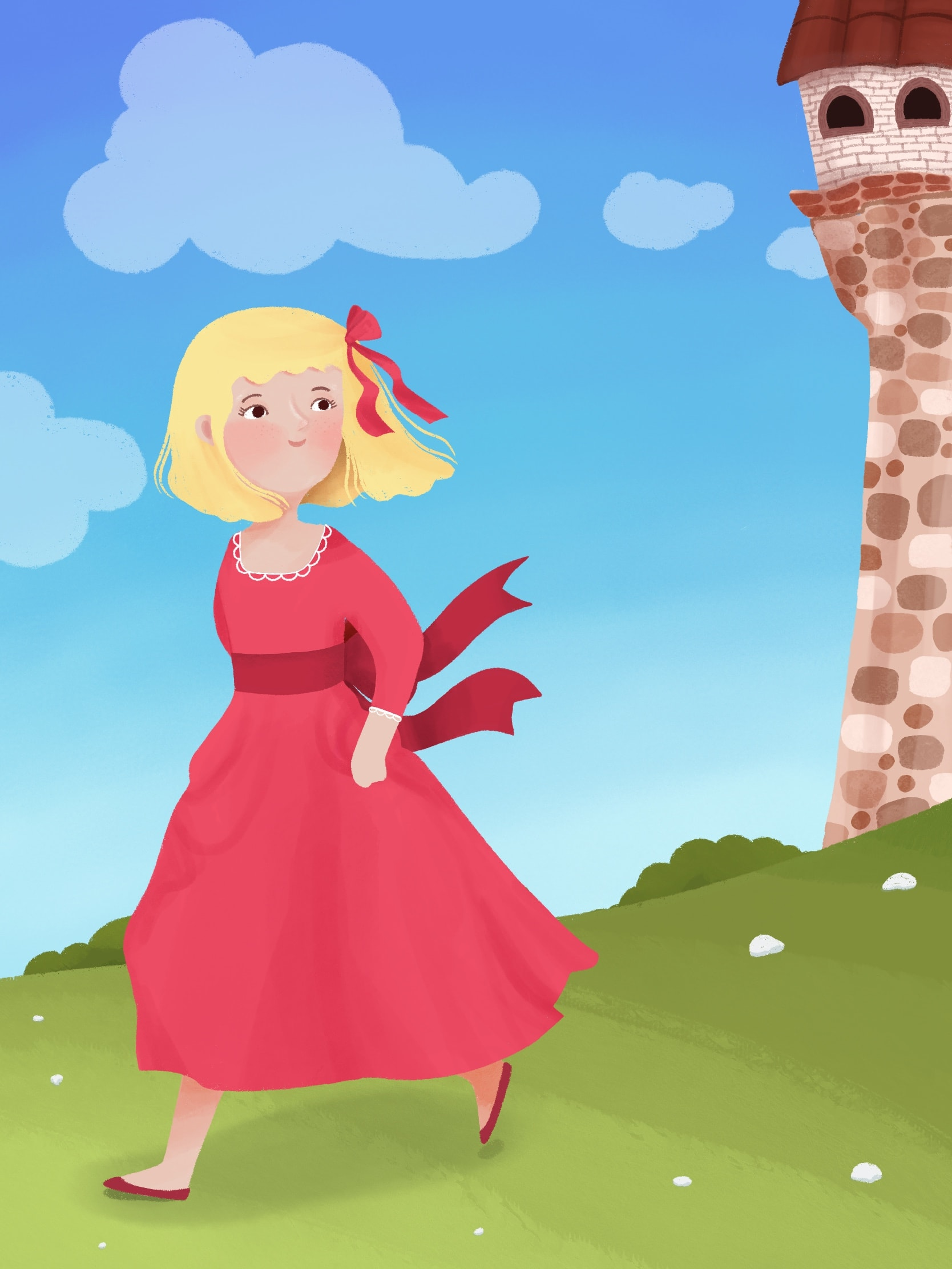 I will make cute or educational children book illustration with my style