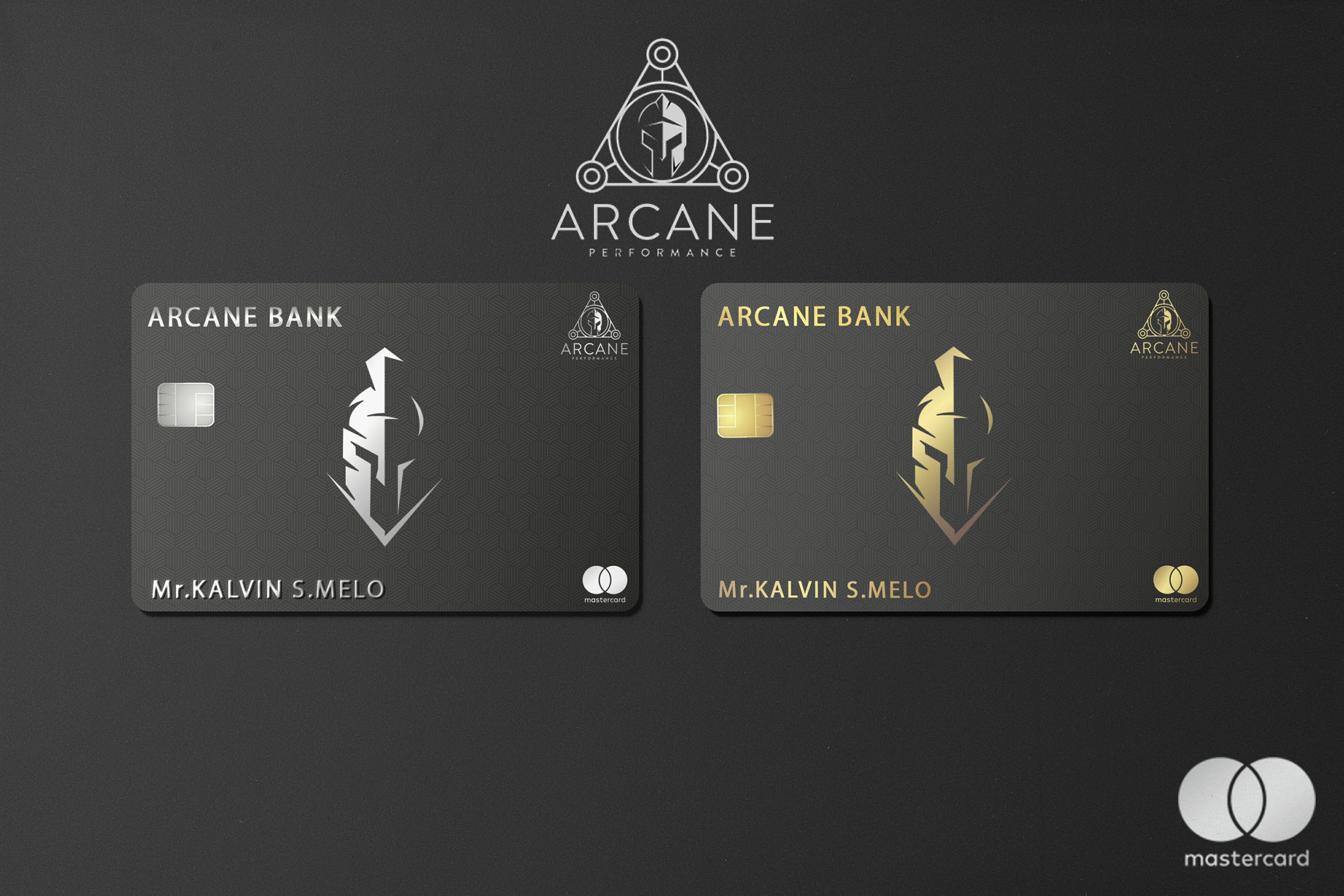 I will design awesome credit cards and membership cards