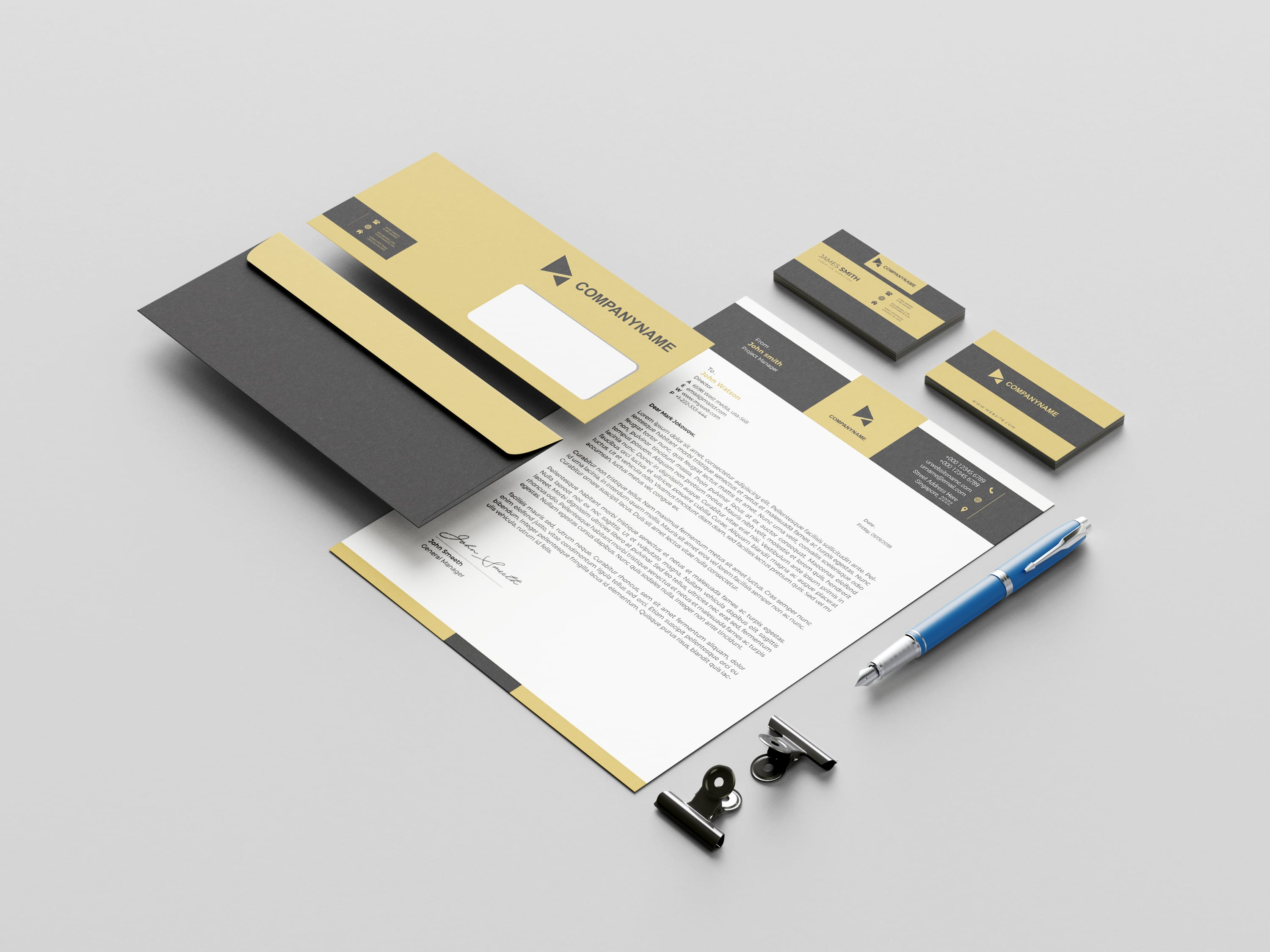 I will do logo, business card, letterhead or stationery design