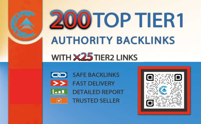 I will boost website ranking with high authority backlinks with second tier links