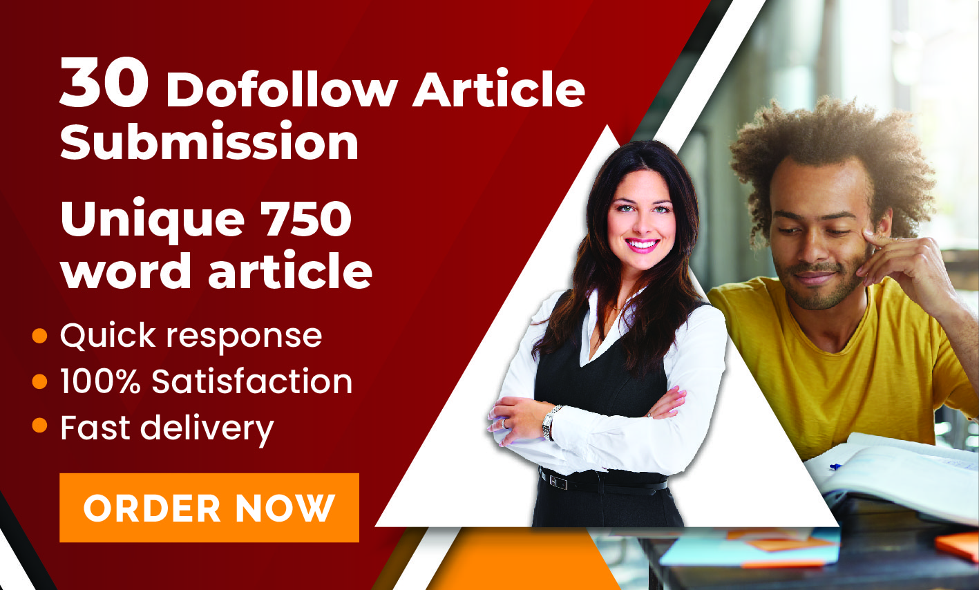 provide 40+ high quality 30 dofollow article submission links