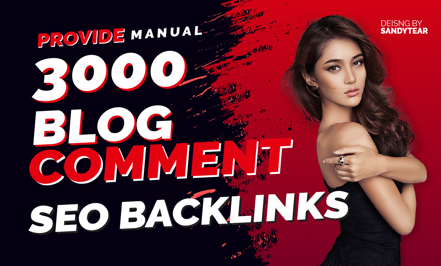 3000 manual Blog comment SEO Back-links