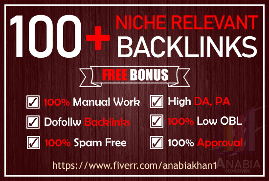 i will create 100+ high quality niche relevant dofollow manual comment backlinks high da pa