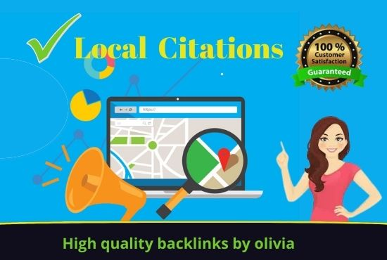 I will do 100 local citations or local listings