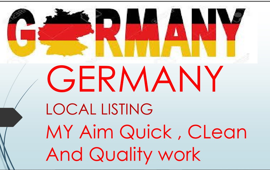I will do 200 german SEO listings for search engine optimization