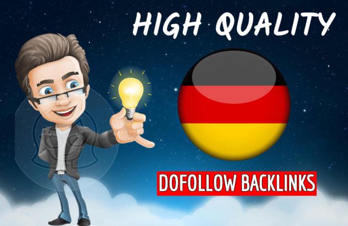 I will build 10 quality dofollow forum backlinks german