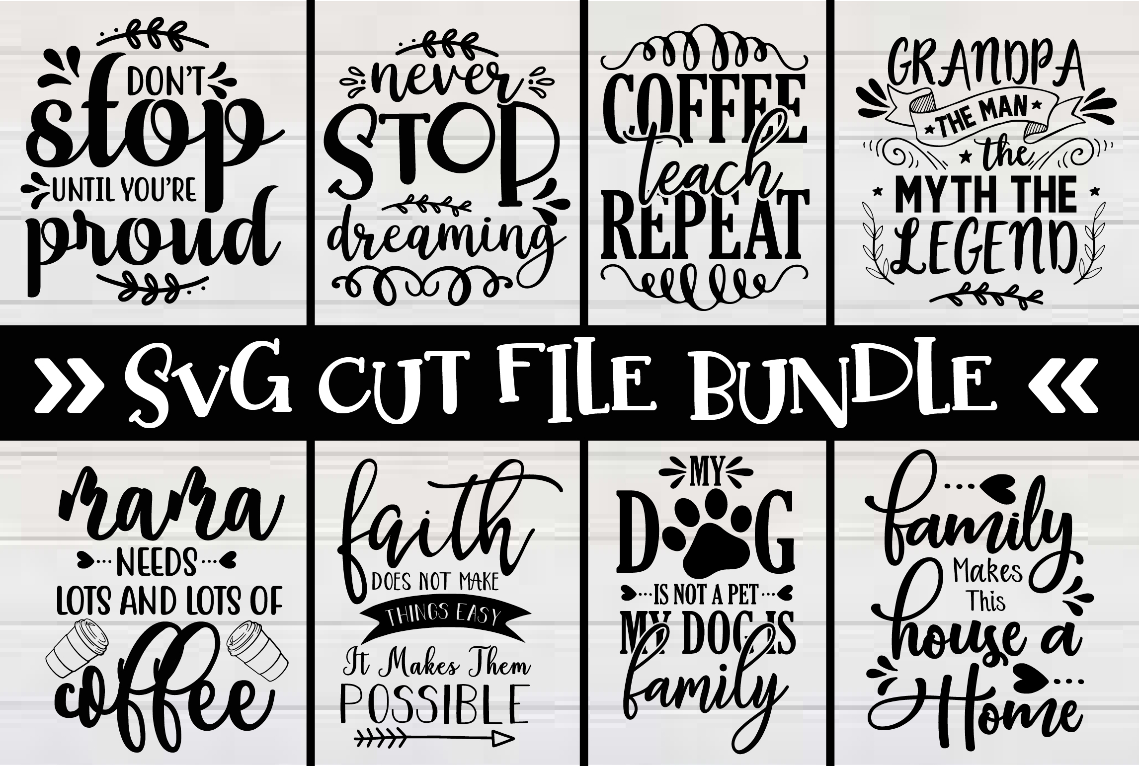 I will provide svg cut files design bundle for etsy and others