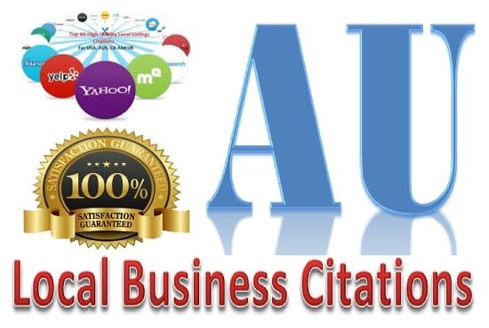 I will do 100 australia local citations and directory for local SEO
