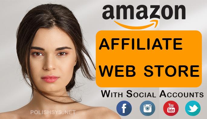 I will design autopilot amazon affiliate website for passive income