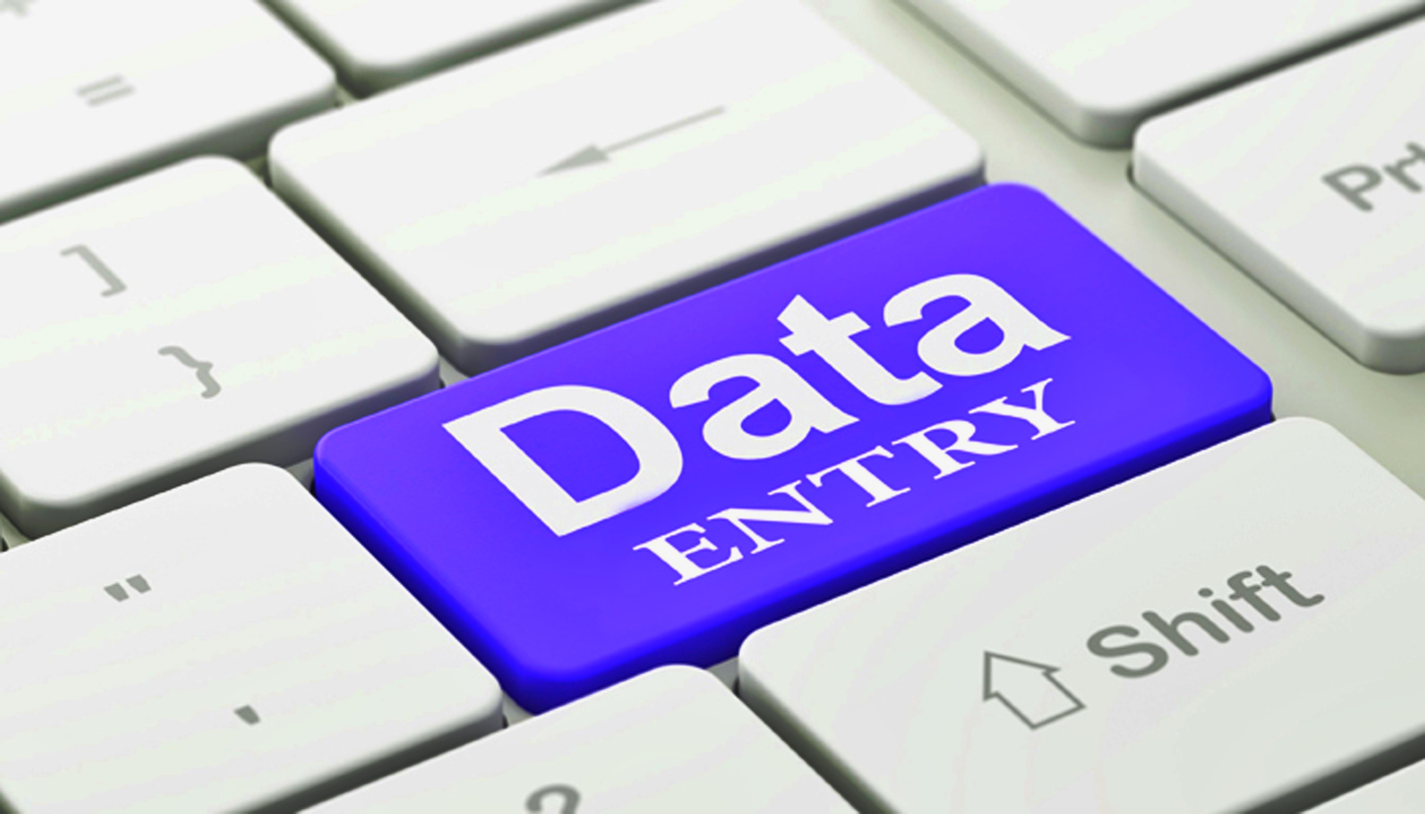 Data entry specialist. I will do data entry for you.