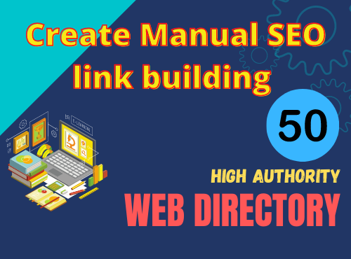 Give 50 web Directory Submissions Manually