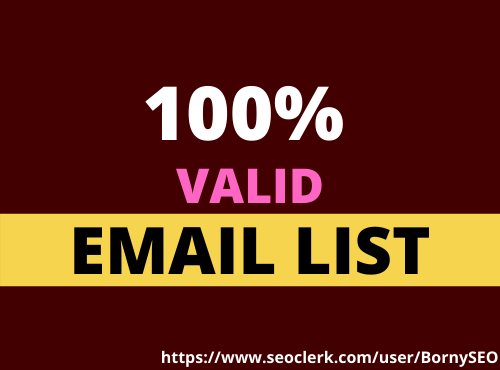 Provide Niche Targeted 700 Location based Email list