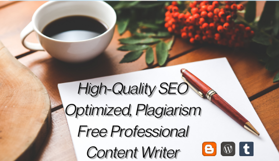 Do 1500 Words Professional HQ SEO Friendly Content, Blog and Article Writing
