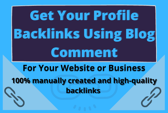 Provide 50 Niche Related Manual Blog Comment Backlinks