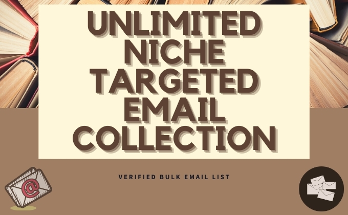 Provide 8k Verified Niche Related & Location Based E-Mail List
