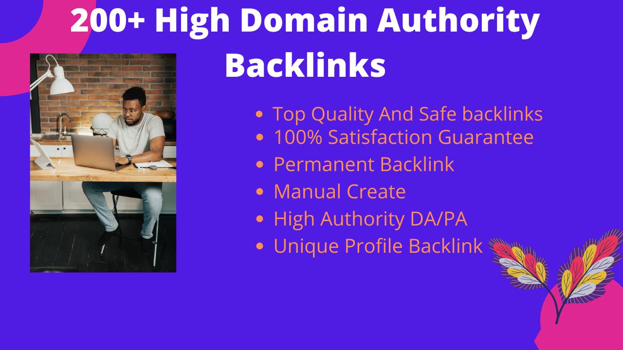 70 High Domain Authority Profile Backlinks