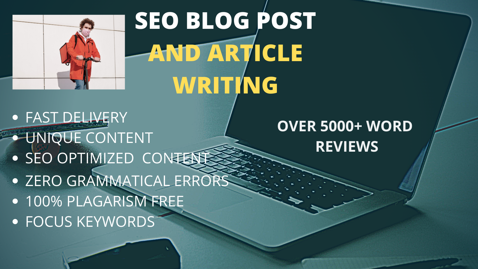 DO 1200 SEO friendly articles or website content for your business