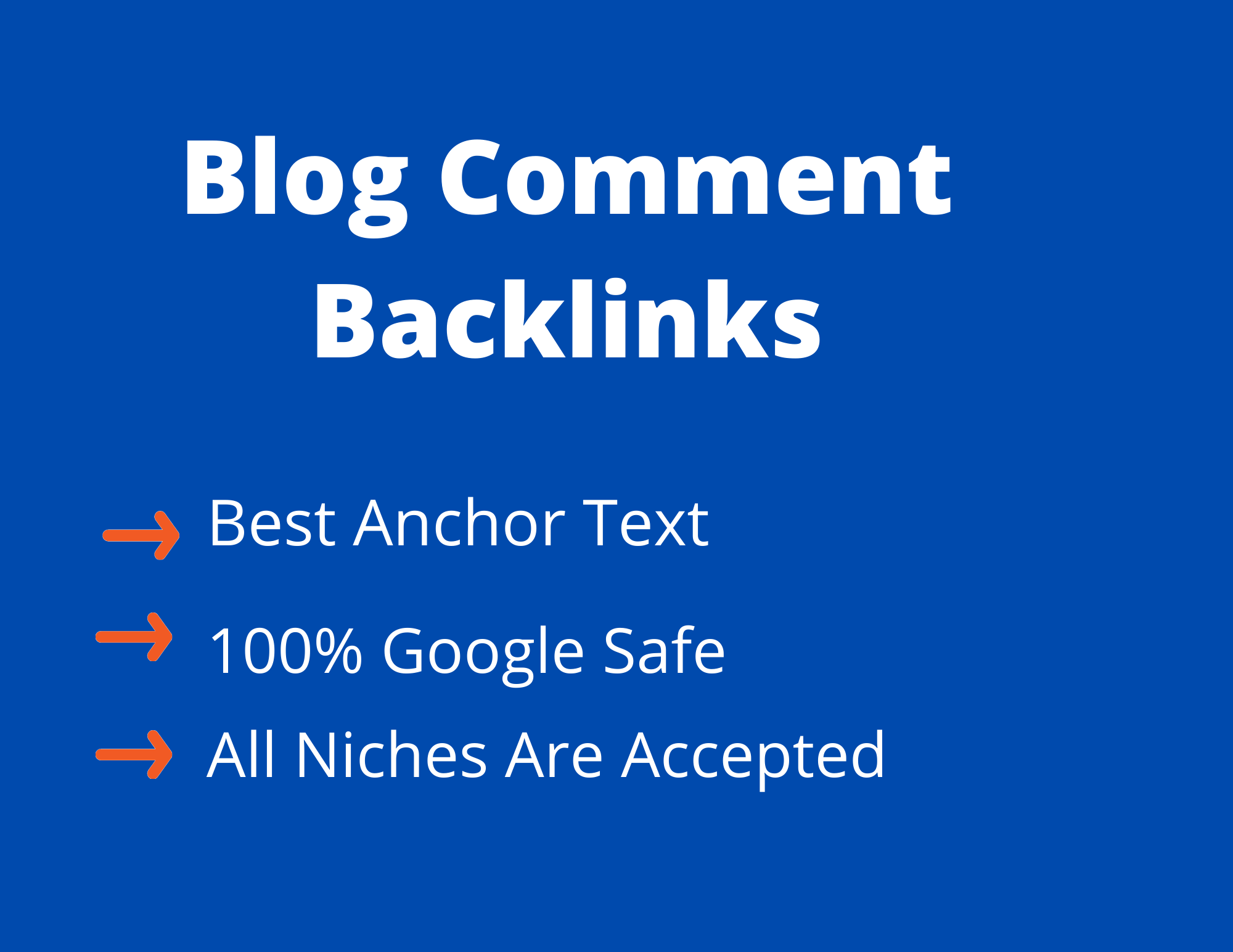 Build 50 Do Follow Blog Comments High Authority Backlinks