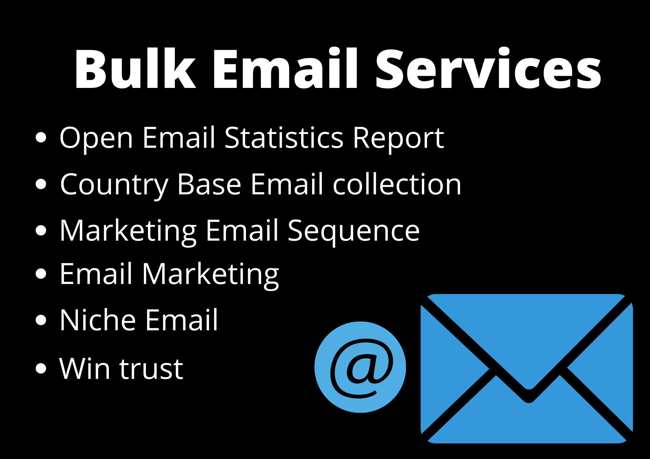 Do 5000 Collect Niche Targeted Email List for Email Marketing Blast