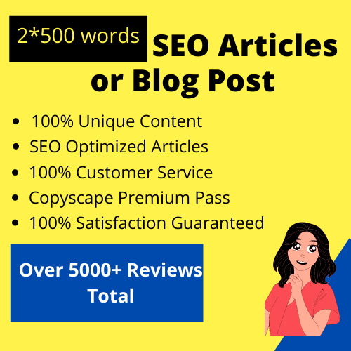Do 1200 words SEO article writing,  website content or blog writing
