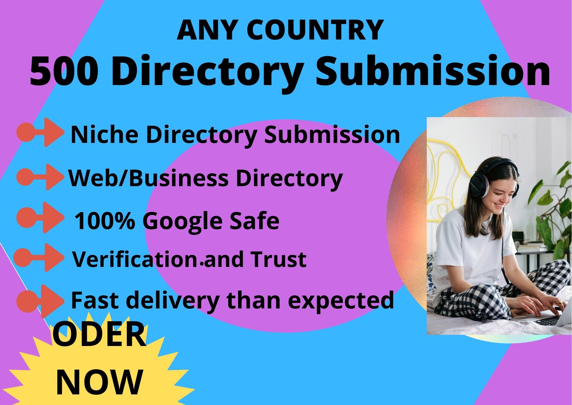 Do top 70 Any Country Local Citations and Directory Submission