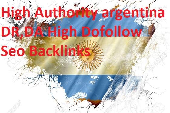 I will do 20 high authority argentina backlinks da, dr argentina Dofollow forums seo backlinks
