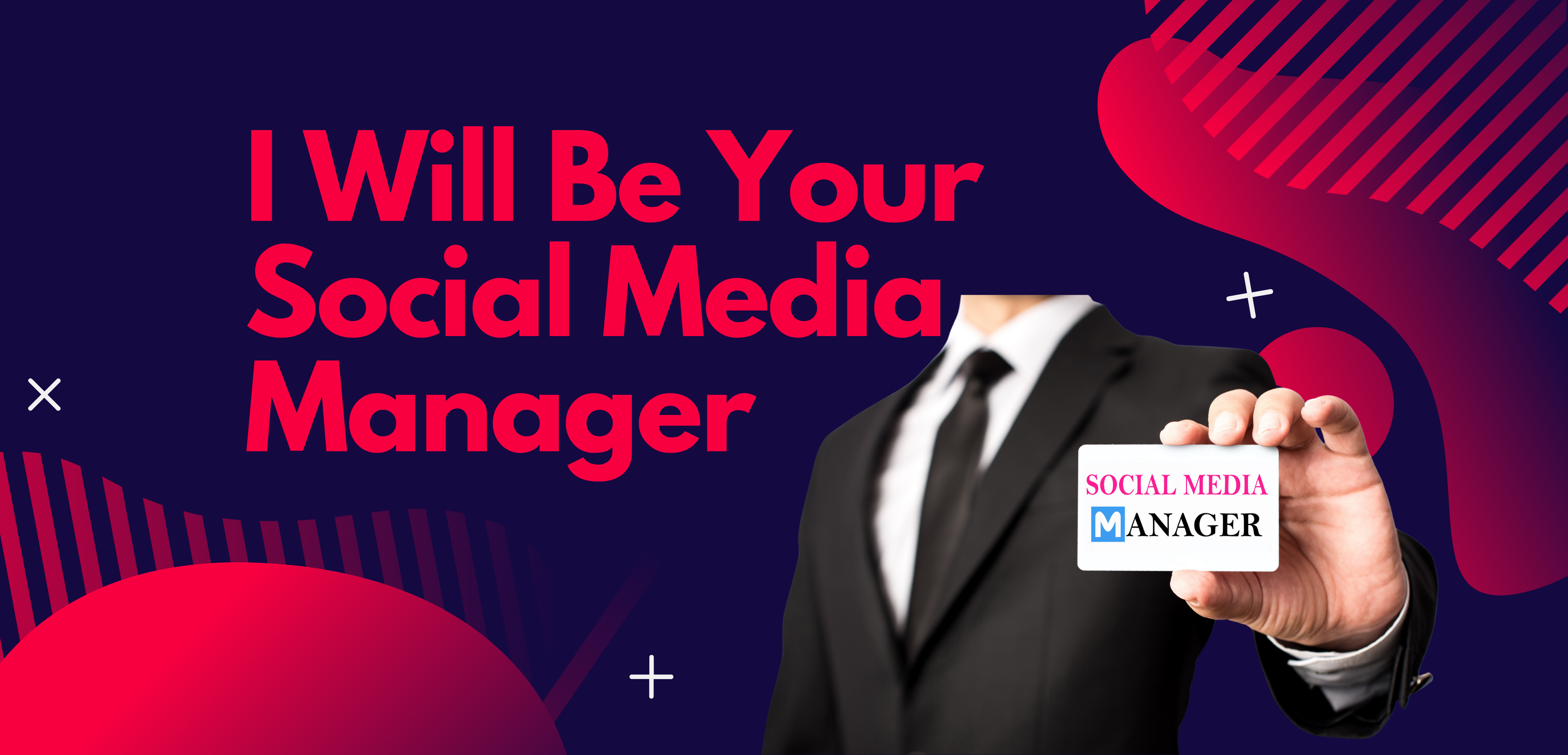I will be your all social media manager