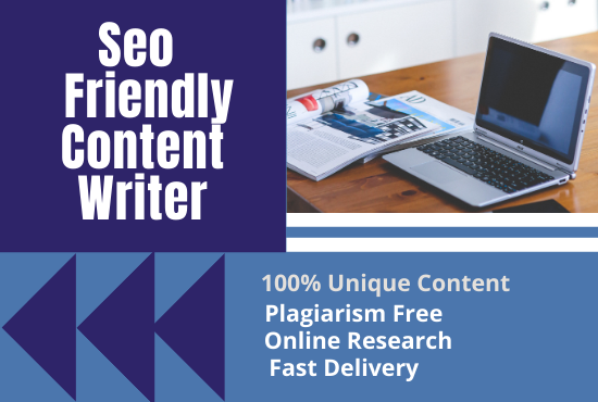 SEO Friendly Optimized Article writing,  Content writing.