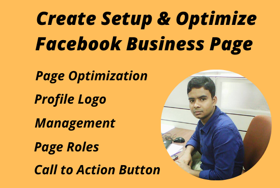 I will create SEO Facebook business page,  setup,  manage and optimize.