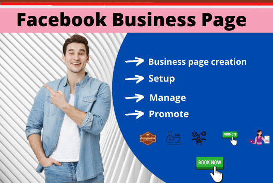 I will create and setup Facebook business page with SEO optimization