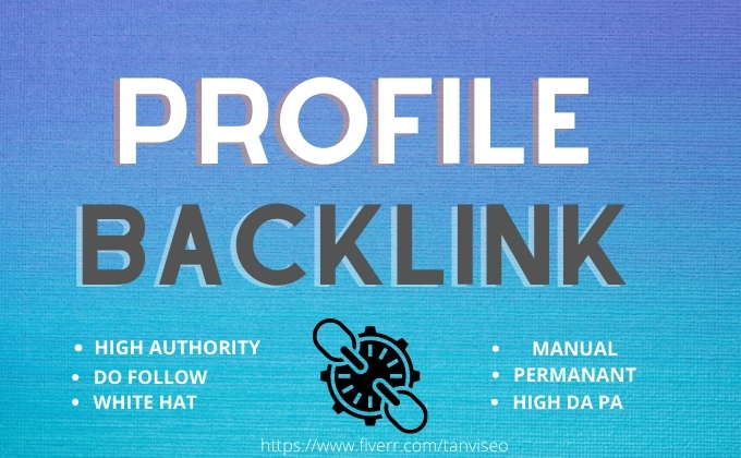 I will create 70 high DA PA SEO profile backlinks for your website