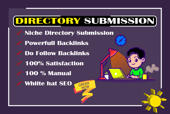 I will create manually 100 SEO friendly Directory submission backlinks