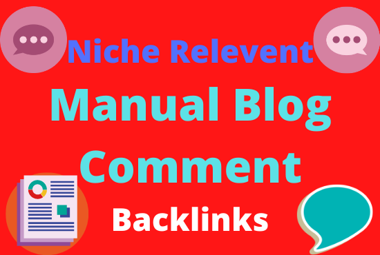 do 70 unique high quality manual niche relevant blog comment SEO backlink on any niche