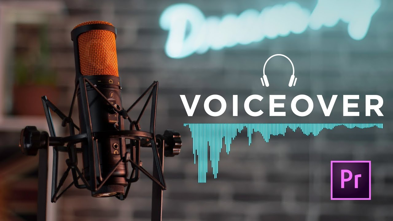 Voice Over is a voice you see.I have the skill of voiceover in English,  French or Arabic.