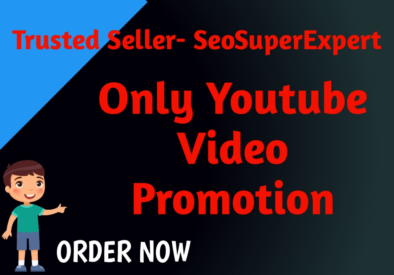 Only Youtube Video Promotion Marketing Work