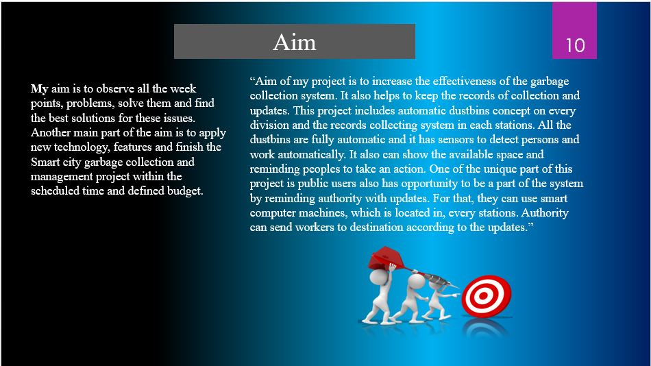 I will do eye catching presentation by using power point and pdf for any level