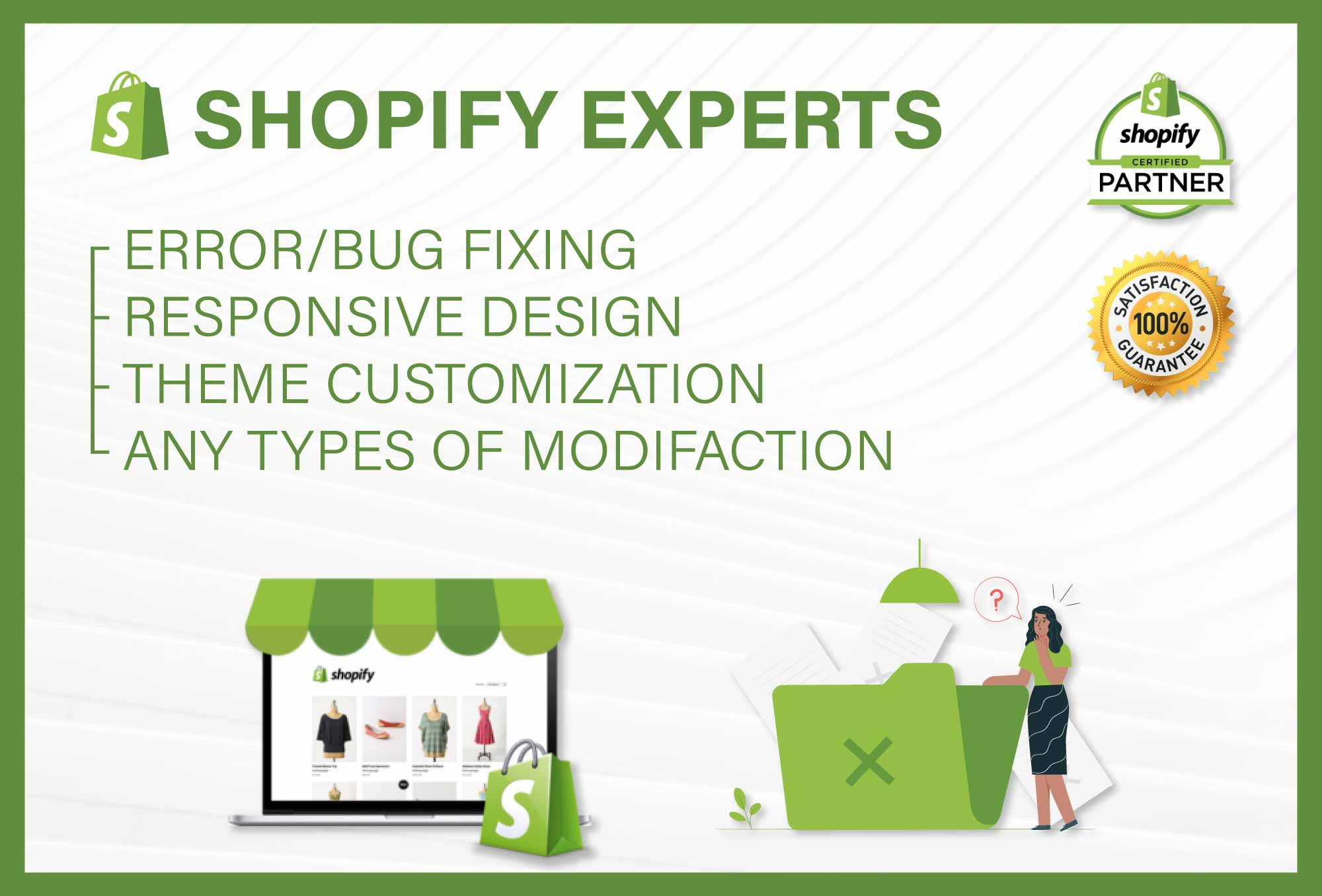 Fix bugs add custom code to your shopify store
