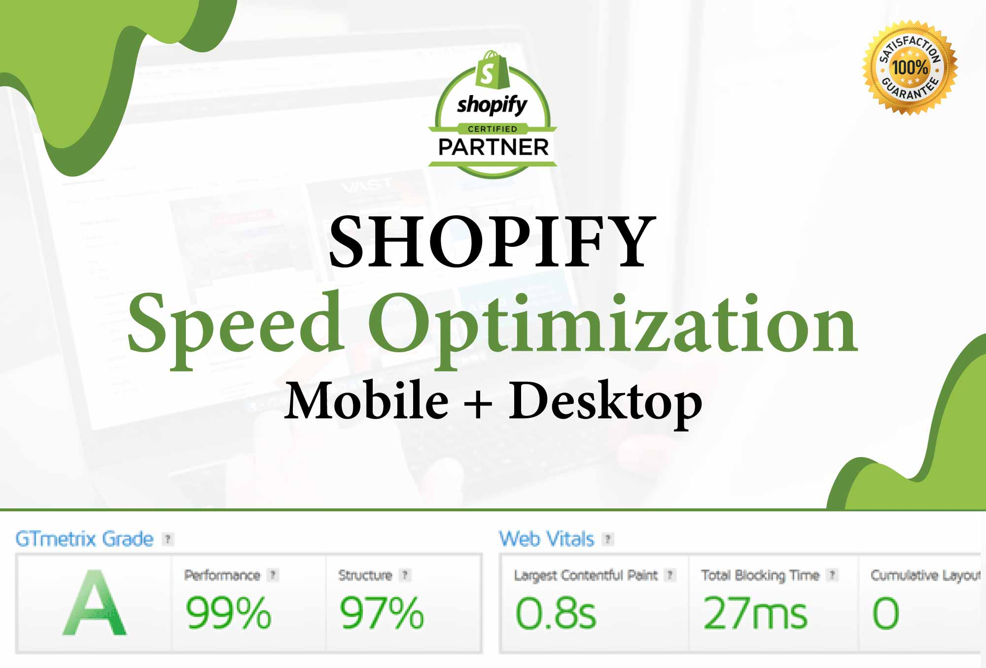 Increase shopify speed optimization and improve store speed