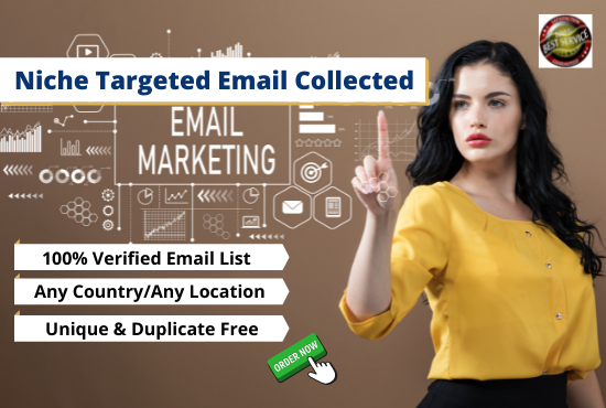 I Will Collect 3k Niche Targeted Bulk Email List