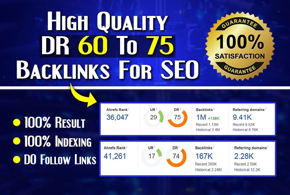 I will make 20 DR 50 to 70 pbn dofollow permanent backlinks