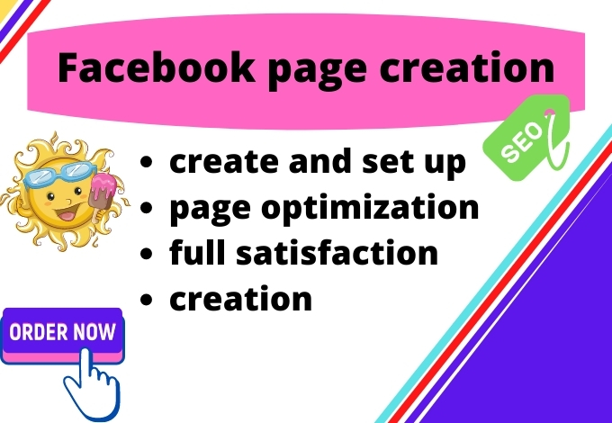 I will create facebook business page and page optimization