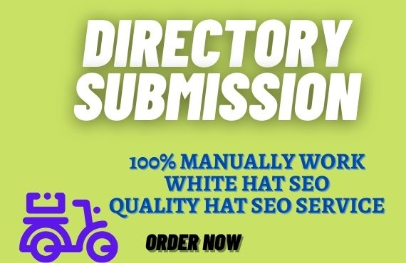I will do 70+ directory submission manually create