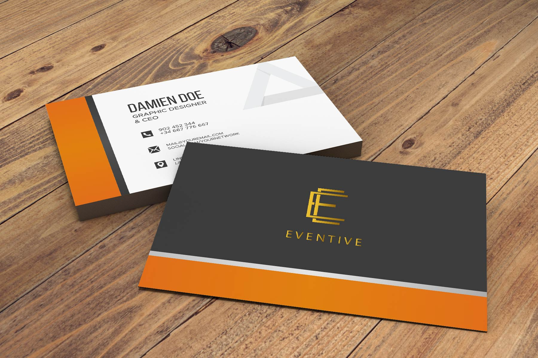 I will design business card and stationary for you