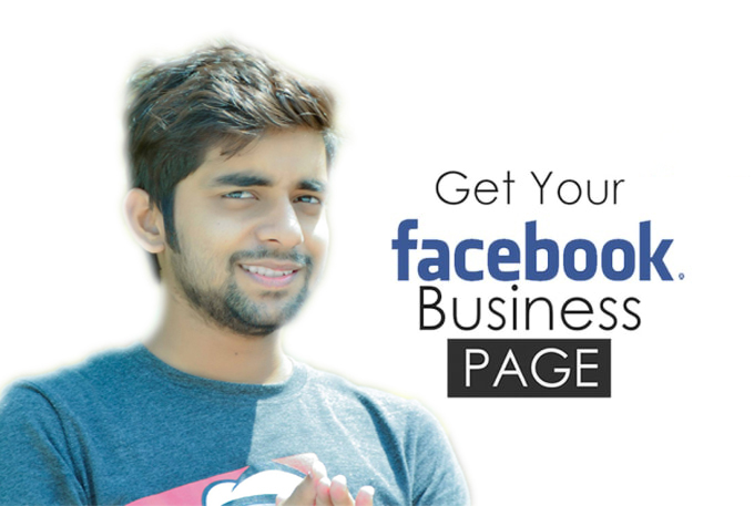 Create and Optimize impressive SEO friendly facebook business page.