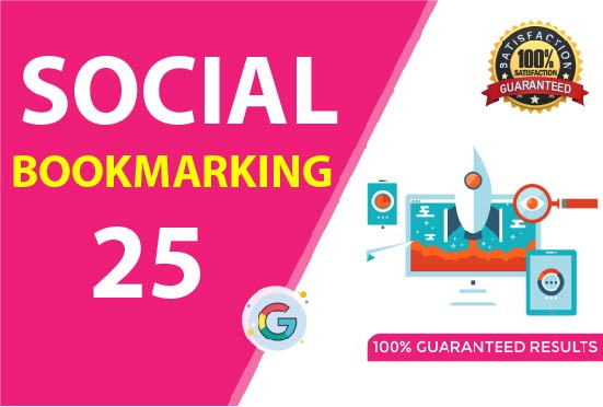 I will do 25 social bookmarking