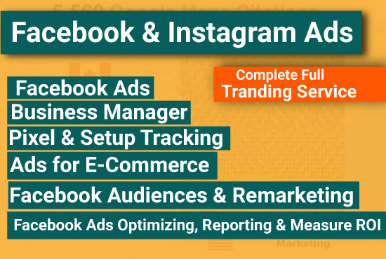 I will setup Facebook ads,  strategies,  and funnels professionally