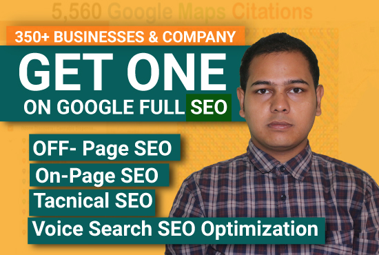 I will rank your site on first page with complete SEO service