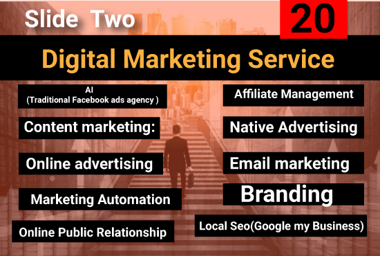 I will provide ten digital marketing service to boost your sales